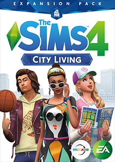Available right now: Expansion pack The Sims 4 City Living