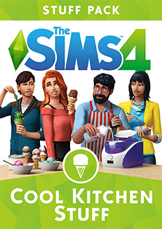 Available right now: stuff pack The Sims 4 Cool Kitchen Stuff