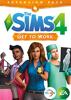 Download Expansion Pack Sims 4 Get to Work
