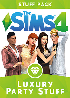 Available right now: stuff pack The Sims 4 Luxury Party Stuff