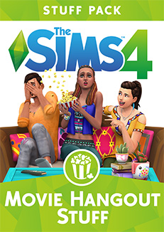 Available right now: stuff pack The Sims 4 Movie Hangout Stuff