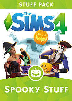 Available right now: stuff pack The Sims 4 Spooky Stuff