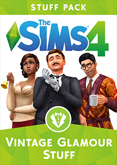 Available right now: The Sims 4 Vintage Glamour Stuff