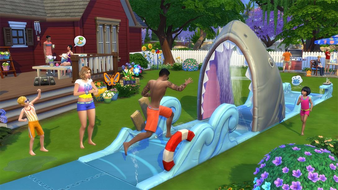 Download stuff pack The Sims 4 Backyard Stuff