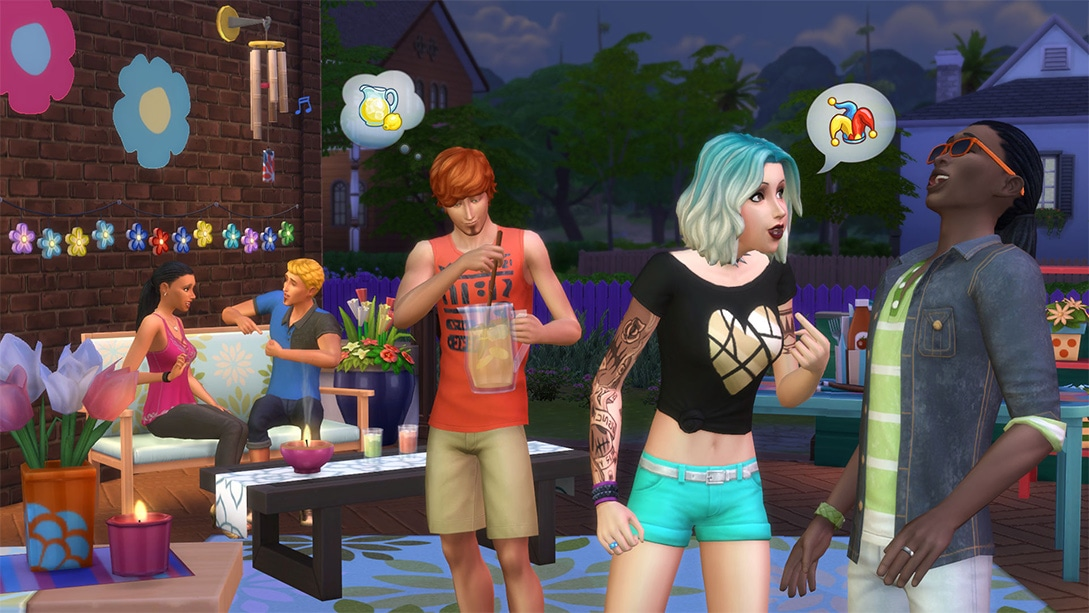 Download stuff pack The Sims 4 Backyard Stuff