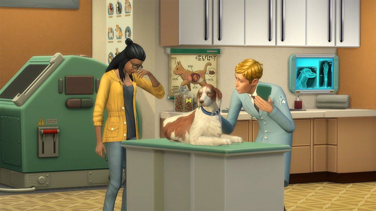 Expansion pack The Sims 4 Cats & Dogs