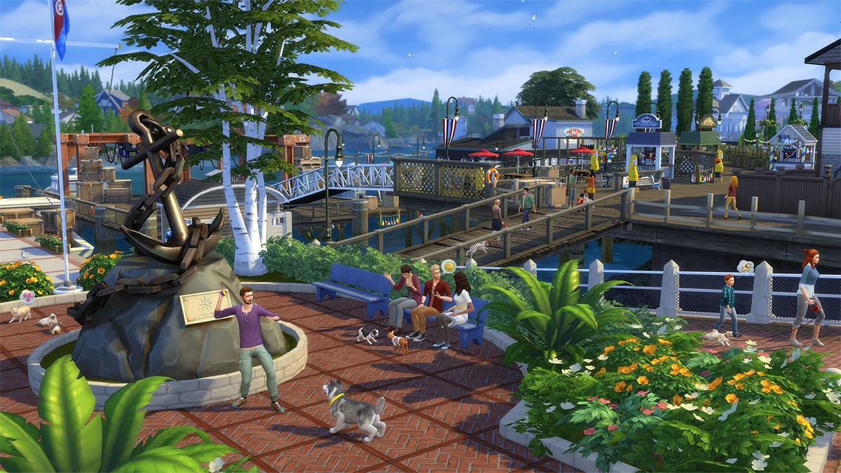 Download expansion pack The Sims 4 Cats & Dogs