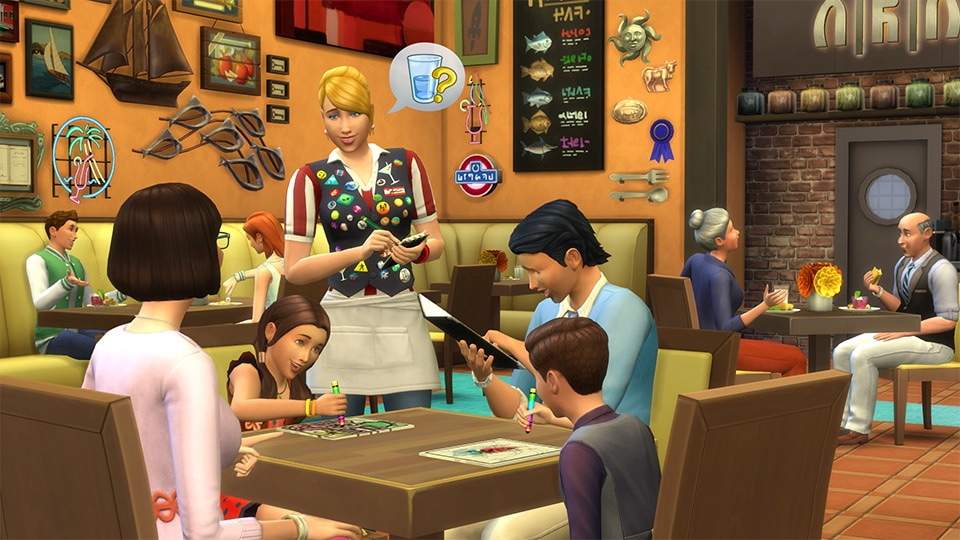 Download game pack The Sims 4 Dine Out
