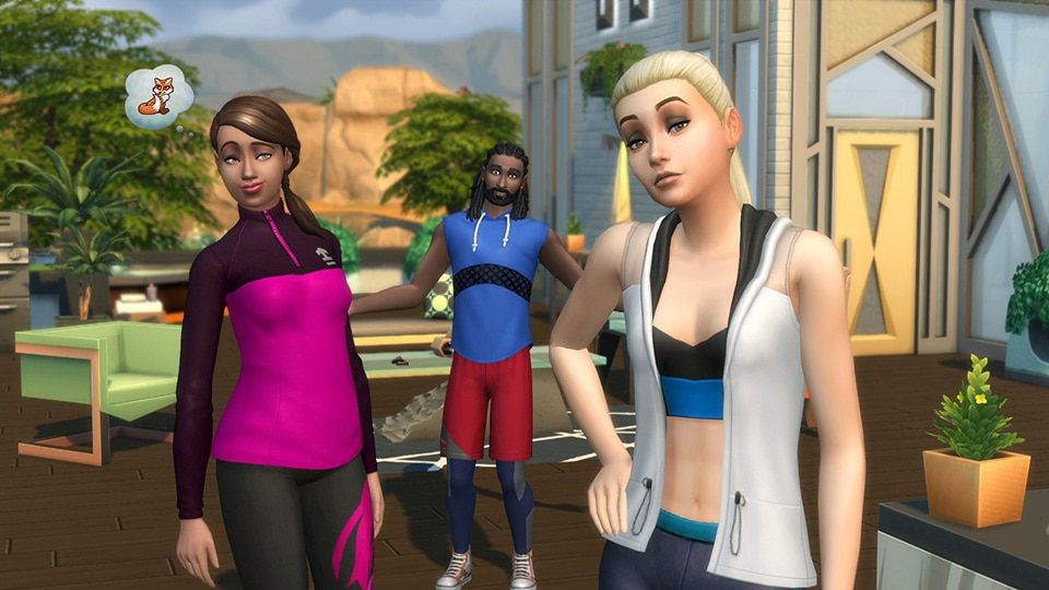 Download stuff pack The Sims 4 Fitness Stuff