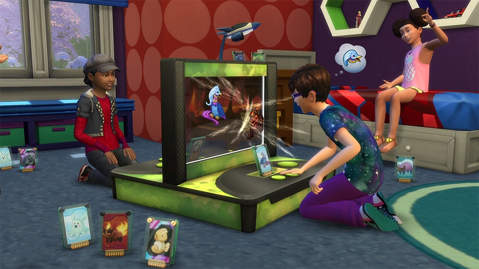 Download stuff pack The Sims 4 Kids Room Stuff