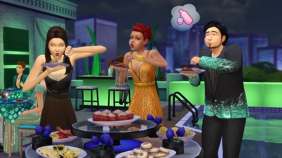 Download stuff pack The Sims 4 Luxury Party Stuff