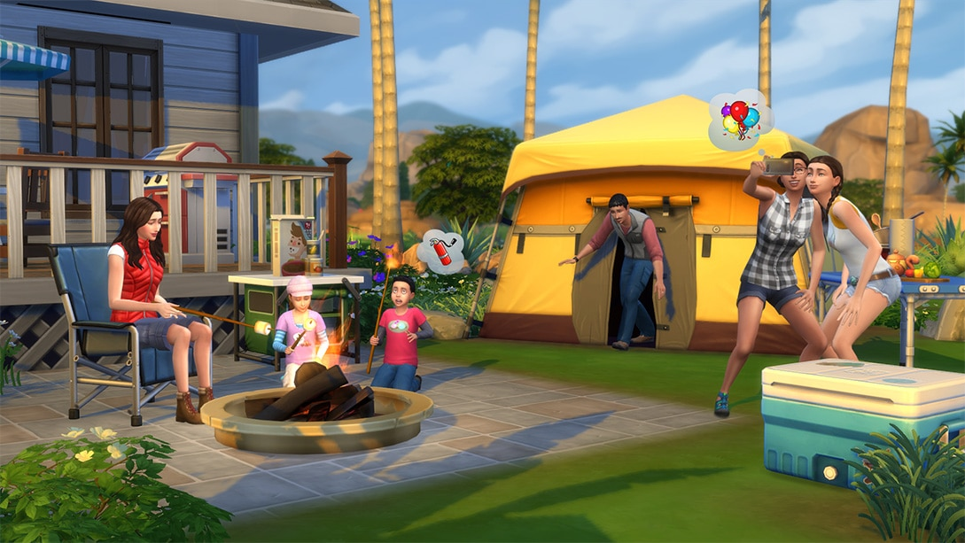 Download game pack The Sims 4 Outdoor Retreat