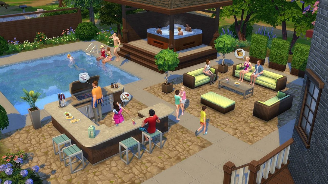 Download stuff pack The Sims 4 Perfect Patio Stuff