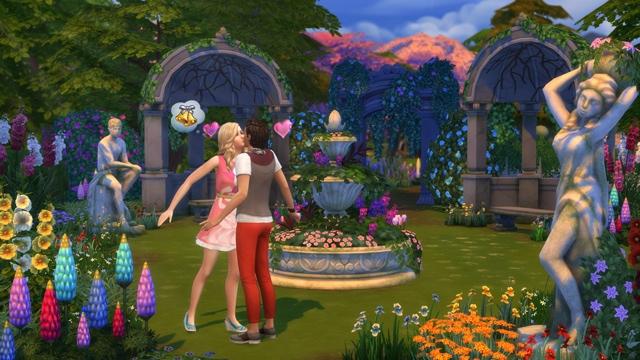 Download stuff pack The Sims 4 Romantic Garden Stuff