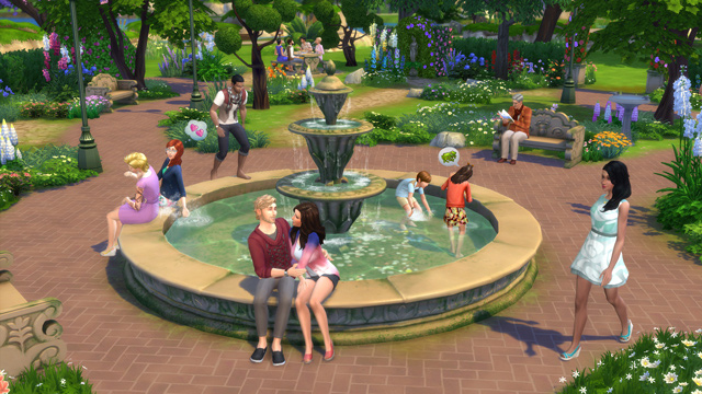 Download stuff pack The Sims 4 Romantic Garden Stuff