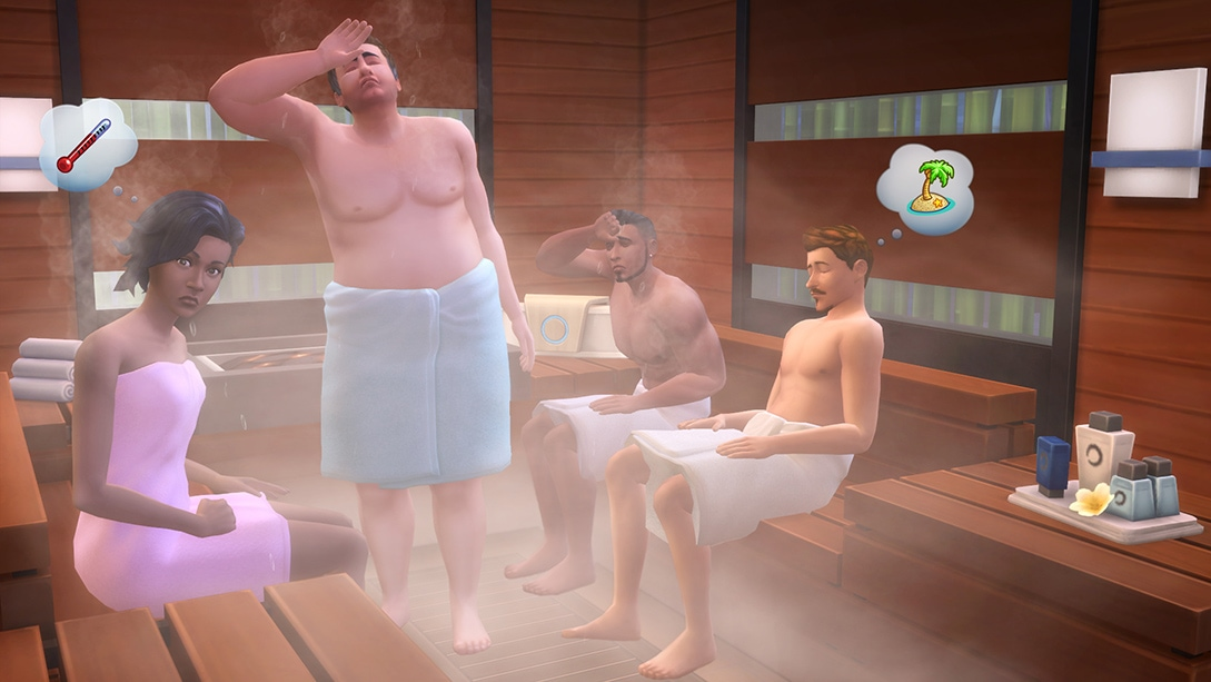 Download game pack The Sims 4 Spa Day