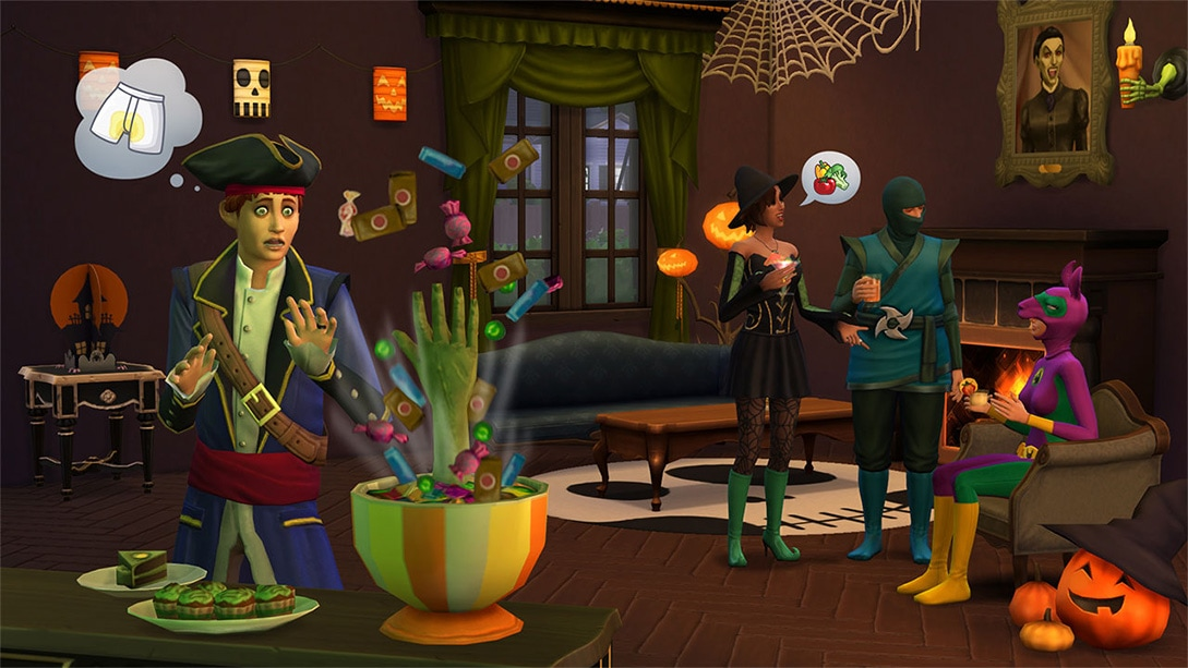 Download stuff pack The Sims 4 Spooky Stuff
