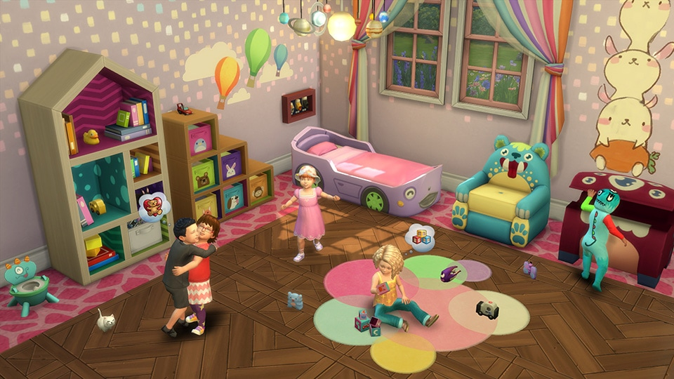 Stuff pack The Sims 4 Toddler Stuff