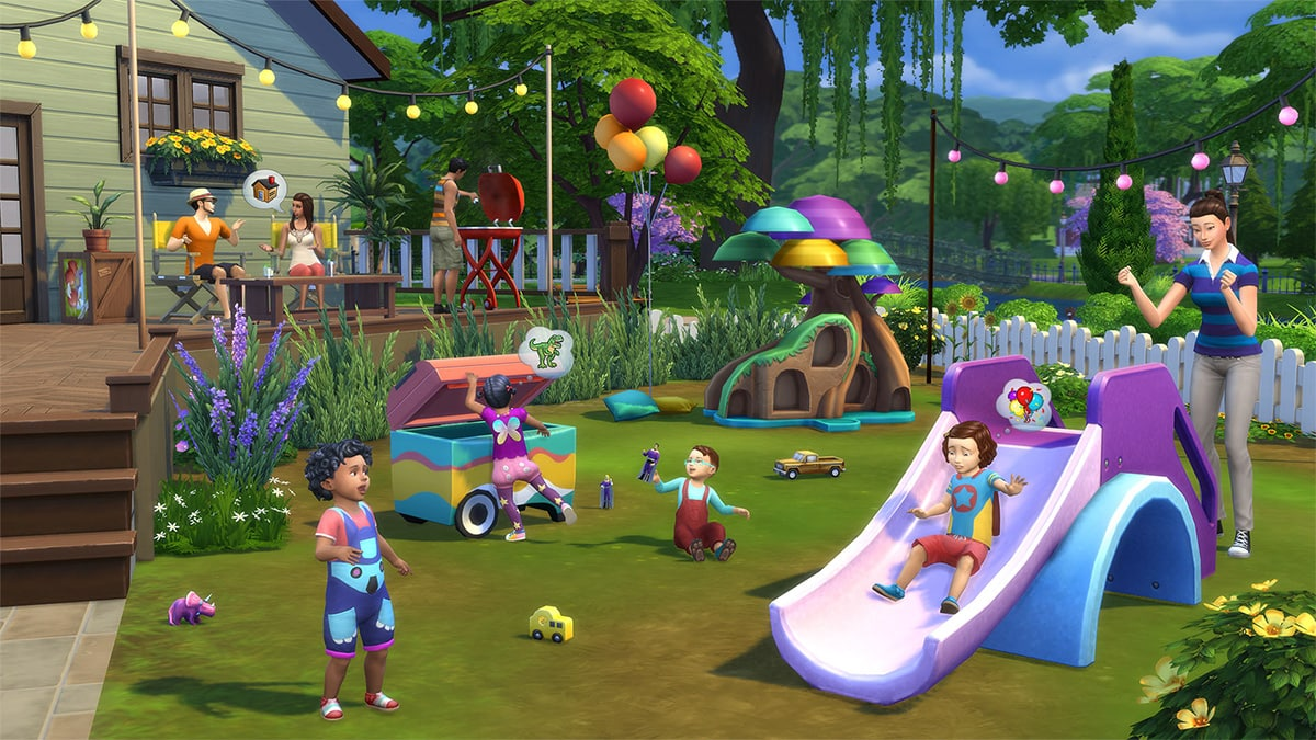 Download stuff pack The Sims 4 Toddler Stuff