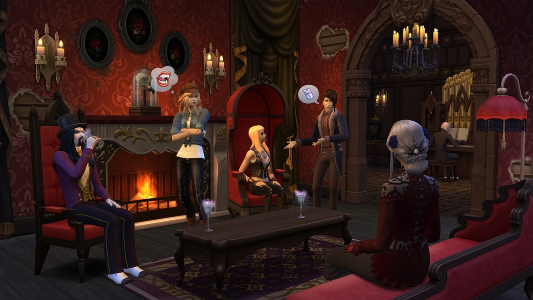 The Sims 4 Vampires Game Pack is coming soon