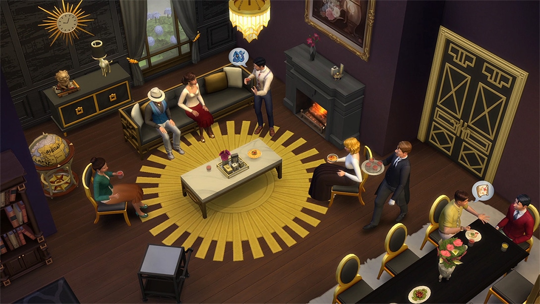 Download stuff pack The Sims 4 Glamour Stuff