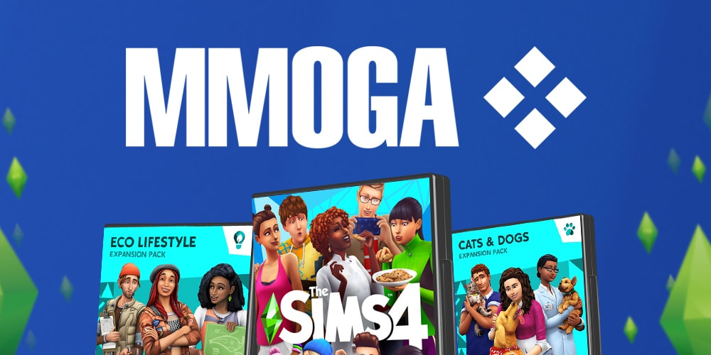 Download Sims 4 games for PC and Mac at MMOGA